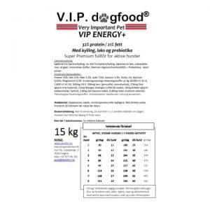 V.I.P. ENERGY+ 15kg