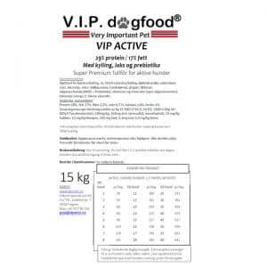 V.I.P. ACTIVE 15kg