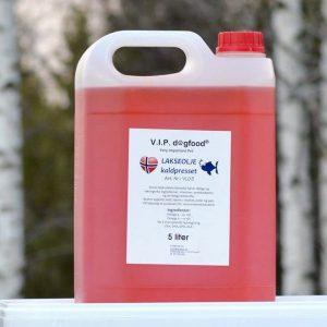 V.I.P. lakseolje 5 liter