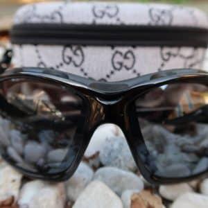 Sports solbrille med etui